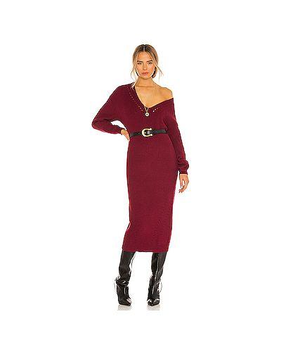 Нейлоновое платье с поясом L'academie