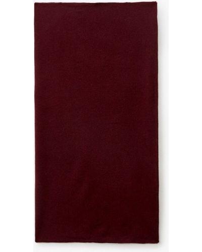 Бордовый зимний платок Canoe
