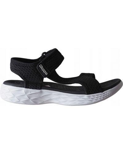 Sandały sportowe na platformie - białe Kappa