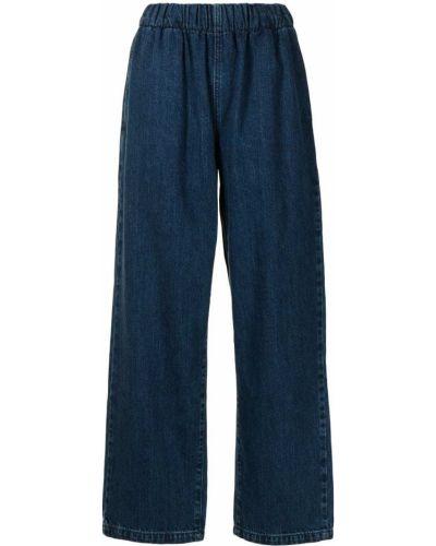Прямые брюки - синие Nobody Denim