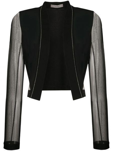 Черная длинная куртка D.exterior