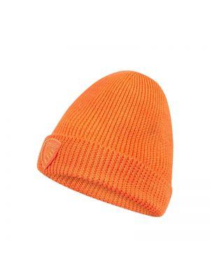 Pomarańczowy wełniany czapka baseballowa Blauer Usa