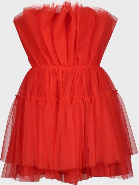 Платье на молнии - красное Vicolo