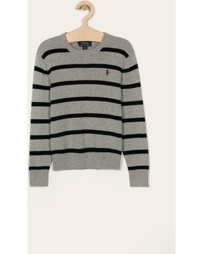 Свитер эластичный серый Polo Ralph Lauren
