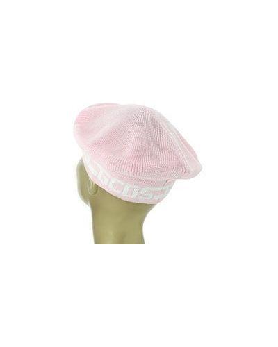 Берет розовый Gcds