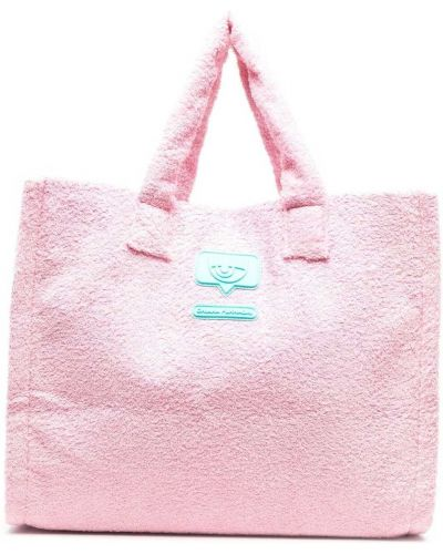 Różowa torebka Chiara Ferragni
