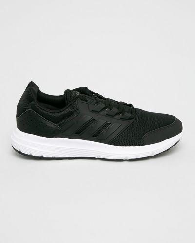 Кроссовки беговые текстильные черные Adidas