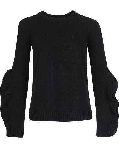 Шерстяной свитер - черный Red Valentino