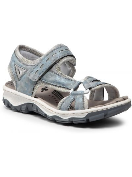 Sandały - niebieskie Rieker