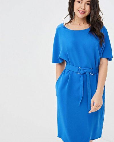 Повседневное платье весеннее синее Gerry Weber