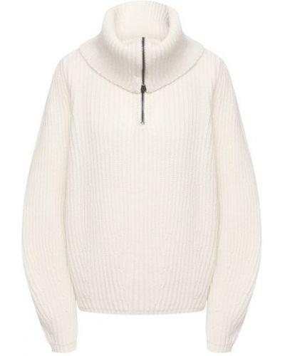 Шерстяной белый свитер Nude