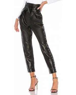 Czarne spodnie skorzane Camila Coelho