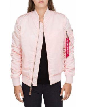 Розовая куртка Alpha Industries