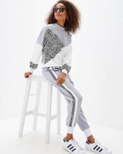 Брючный костюм серый Fresh Cotton