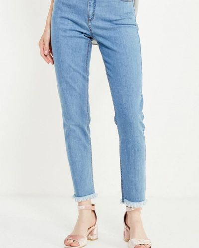 Голубые джинсы-скинни Cocos
