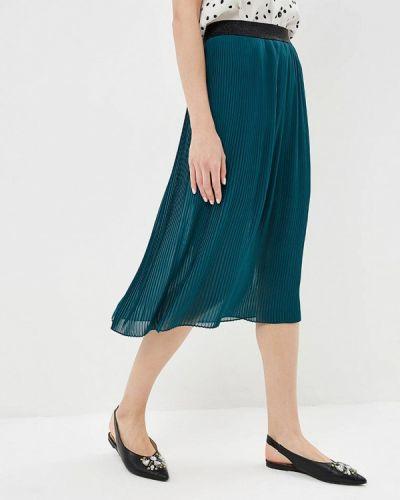Плиссированная юбка зеленый Q/s Designed By