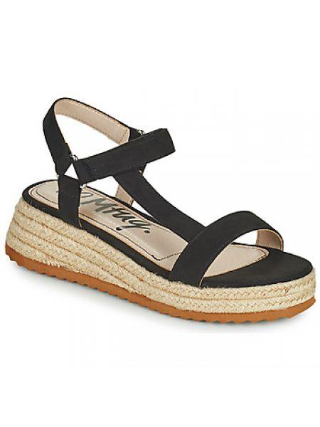 Czarne sandały Mtng
