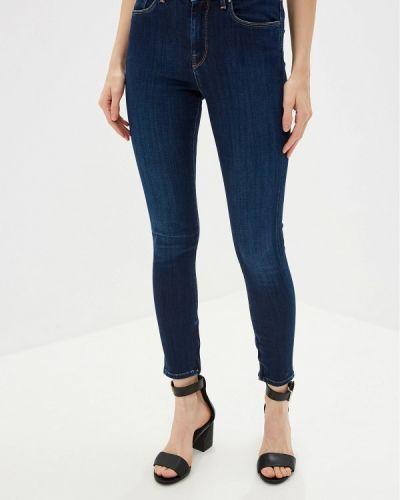 Джинсы-скинни mom синие Pepe Jeans