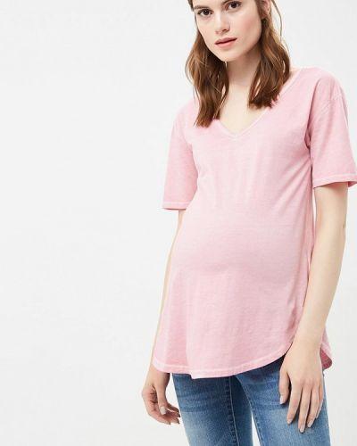 Розовое поло Gap Maternity