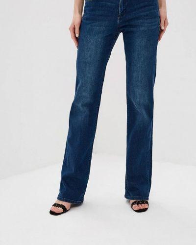 Широкие джинсы расклешенные синие S.oliver