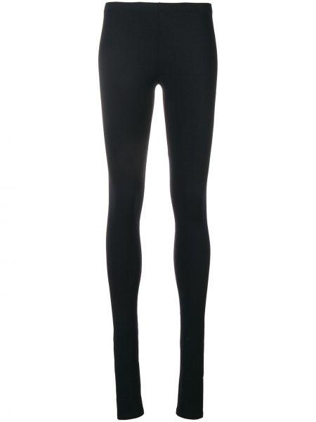 Черные классические брюки с карманами узкого кроя Rick Owens Lilies