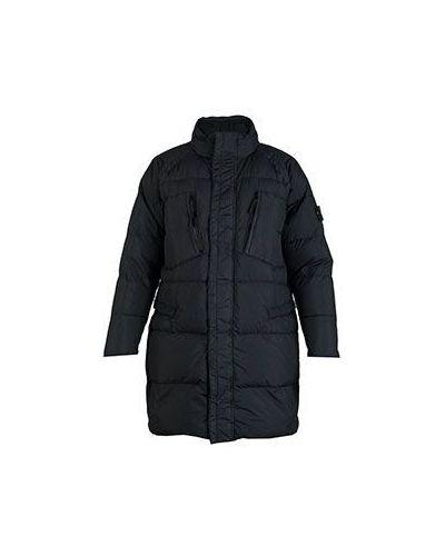 Черная спортивная куртка Stone Island