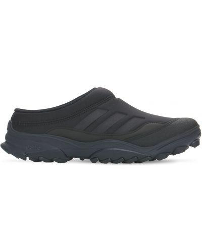 Черные мюли из неопрена Adidas Originals
