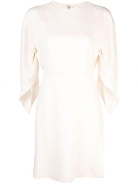 Шелковое платье мини Chloé