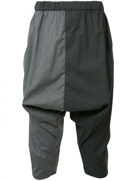 Хлопковые серые брюки Private Stock