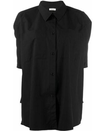 Рубашка с коротким рукавом оверсайз с карманами Nina Ricci