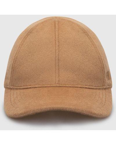 Шерстяная кепка - бежевая Toteme