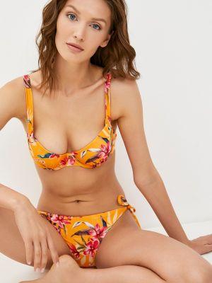 Оранжевый плавки летний Hunkemoller