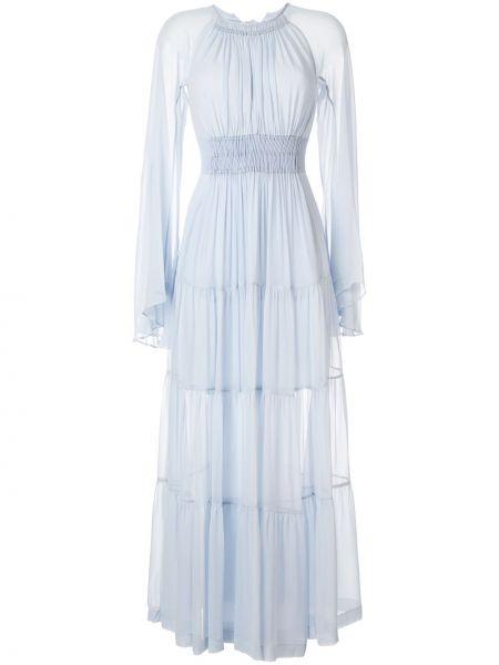 Платье с вырезом с длинными рукавами Kitx