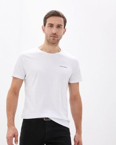 С рукавами белая футболка Felix Hardy