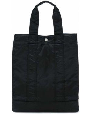 Черная нейлоновая сумка-тоут Porter