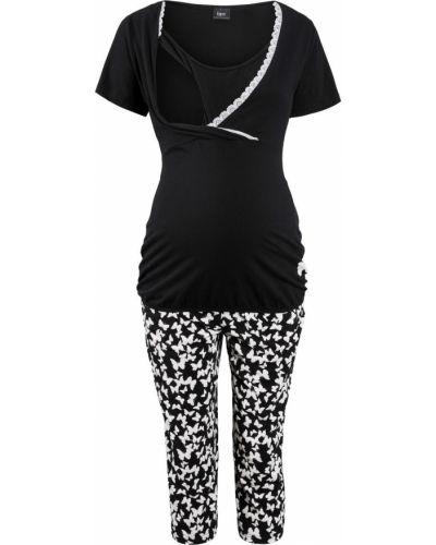 Пижама с брюками для беременных хлопковая Bonprix