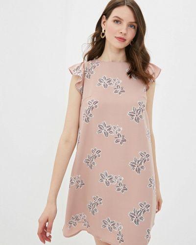 Платье прямое бежевое Befree