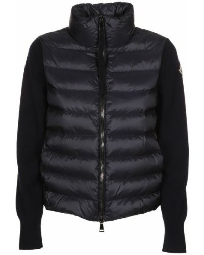 Czarna kurtka puchowa Moncler
