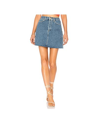 Джинсовая юбка юбка-колокол с карманами Joe's Jeans