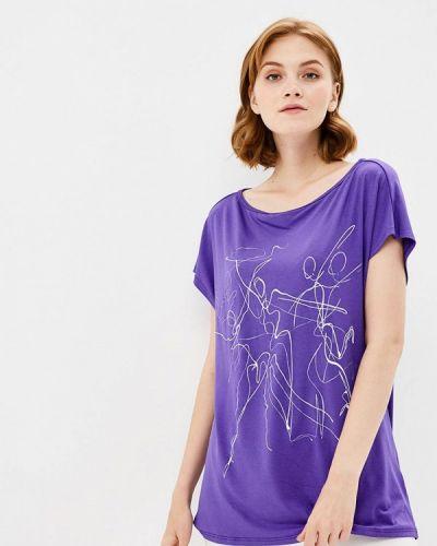 Фиолетовая футболка Grishko