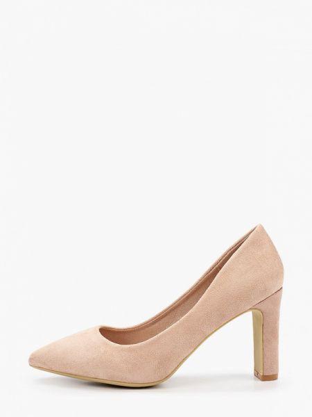 Бежевые замшевые туфли закрытые Style Shoes