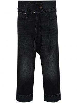 Укороченные джинсы - черные R13