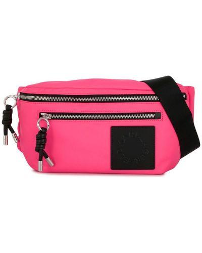Поясная сумка розовый на плечо Karl Lagerfeld