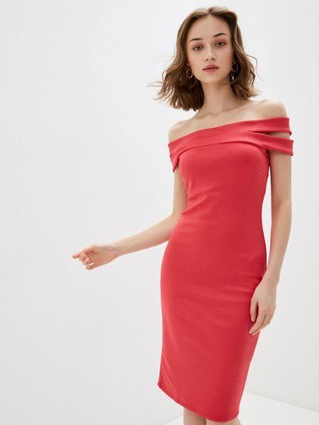 Вечернее платье красный весеннее City Goddess