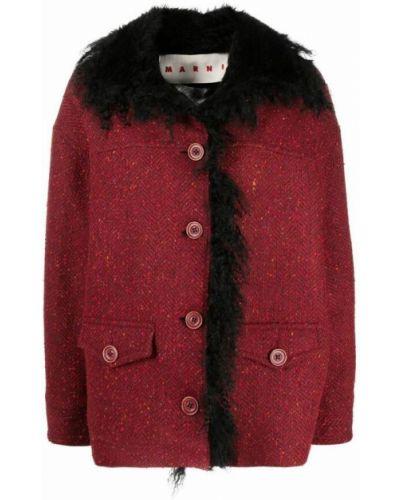 Czerwona kurtka Marni