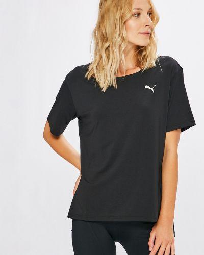Свободная футболка спортивная однотонная Puma