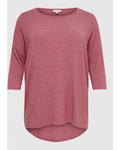 Bluzka - różowa Only Carmakoma