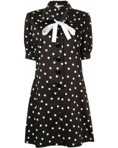 Платье мини короткое - черное Yves Saint Laurent Vintage