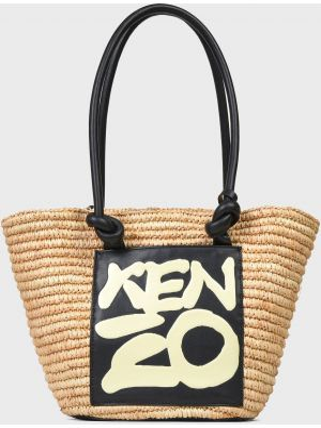 Текстильная сумка - бежевая Kenzo