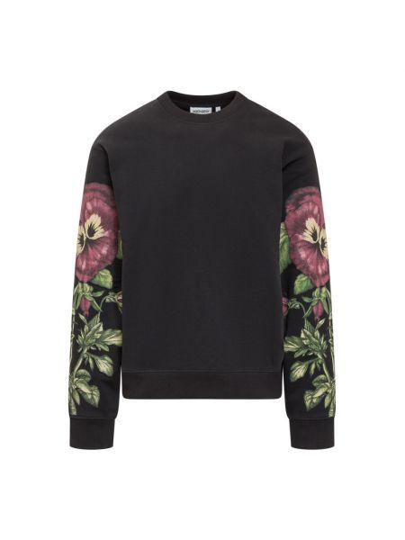 Sweter bawełniany - czarny Kenzo